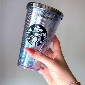 Starbucks Grande Holographic Wave Tumbler
